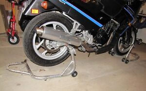 Front and rear Motorcycle Track Stands Kitchener / Waterloo Kitchener Area image 3
