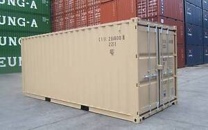New 20' Shipping Containers landed in Gladstone for 3216 ex GST. Gladstone Gladstone City Preview