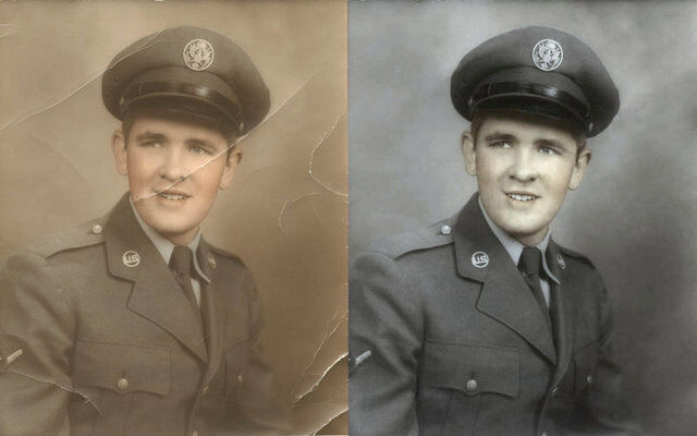 Professional Photo Retouching, Old Photo Restoration!