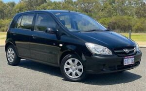 2010 Hyundai Getz TB MY09 SX 5 Speed Manual Hatchback Cannington Canning Area Preview
