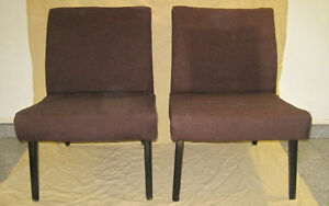 2 - Mid Century Modern Cintique (England) Unit Chairs