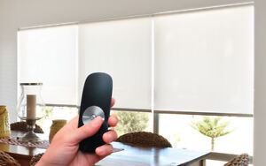 motorized blinds on sale