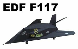 RC 4CH Brushless EDF F*117 Nighthawk Airplane Receiver Ready NEW