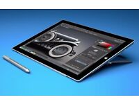 Microsoft Surface Pro 4 12.3-Inch Tablet with Pen may swap for an ipad pro 12.9