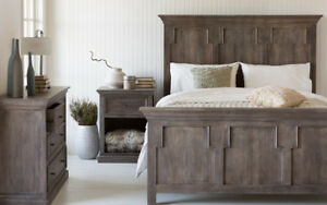 Solid Wood King Bedframe