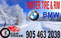 17'' BMW Steel Rims & Winter Tire Only $695 Car Kraze