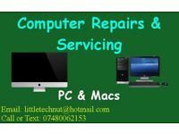 PC and Mac Repairs and Servicing