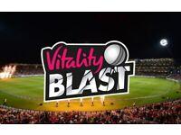 Eric Hollies Stand - 6 tickets - T20 Finals