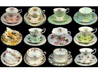 **WANTED** Vintage teacups and teapots.