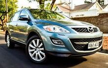 2010 Mazda CX-9 TB10A3 MY10 Grand Touring Blue 6 Speed Sports Automatic Wagon Medindie Walkerville Area Preview