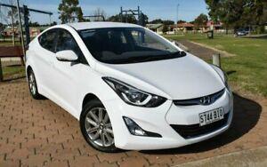 2014 Hyundai Elantra MD3 Trophy White 6 Speed Sports Automatic Sedan Ingle Farm Salisbury Area Preview