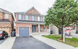 SPACIOUS 4+1Bedroom Detached House in BRAMPTON $849,900 ONLY
