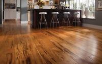 installation de bois franc,flottant,ceramique,finition sous sol.