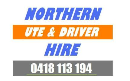 Northern Ute and Driver HIRE Transport Pickup Service- SMS QUOTES Essendon Moonee Valley Preview