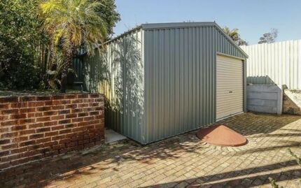 5m x 6m workshop shed - Garden Sheds Joondalup