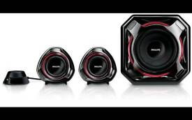 2.1 100W Phillips speakers