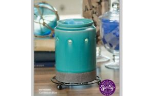 New in box- Scentsy Carribean Blue Warmer
