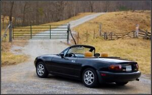 Wanted: 1990-1997 Mazda Miata MX-5. Engine doesn't have to run.