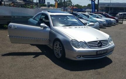 2004 Mercedes-Benz CLK320 Silver Automatic Coupe Burwood Burwood Area Preview