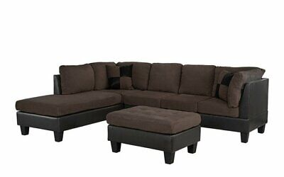 classic living room microfiber faux leather 3