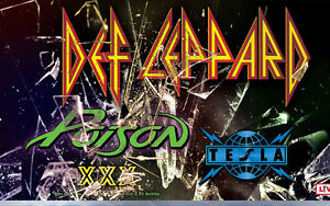 Def Leppard Concert Ticket in Exchange for Ride To/From Calgary