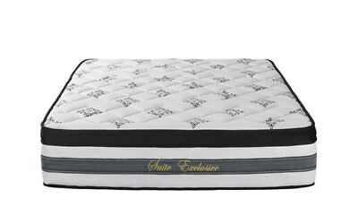Full Pillow Top - 15 inch Hybrid Innerspring and Memory Foam Mattress with Pillow Top - Full