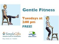FREE Gentle exercise classes - Tues in Bethnal Green - perfect for beginners/mobilty issues