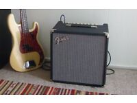 Fender Rumble 40 V3 bass amp: (great fender amp with extreme portability)
