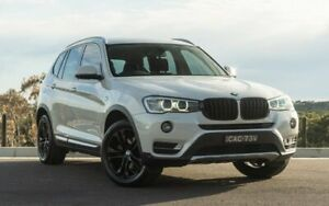 2014 BMW X3 F25 LCI MY0414 xDrive20d Steptronic Mineral White 8 Speed Automatic Wagon Somersby Gosford Area Preview