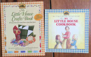 LITTLE HOUSE ON THE PRAIRIE Craft book and cook book 2 for $10