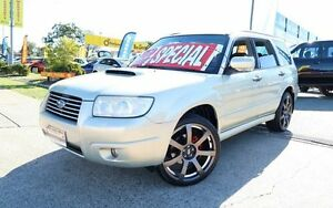 2005 Subaru Forester 79V MY05 XT AWD Luxury Gold 4 Speed Automatic Wagon