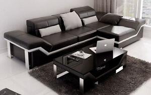 Sofa en cuir (financement 12 mois)