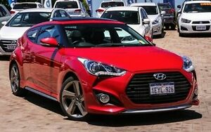 2014 Hyundai Veloster FS3 SR Coupe Turbo Red 6 Speed Sports Automatic Hatchback Embleton Bayswater Area Preview