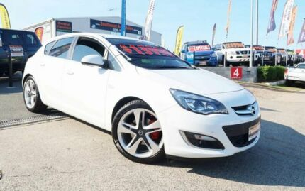 2012 Opel Astra AS White 6 Speed Manual Hatchback