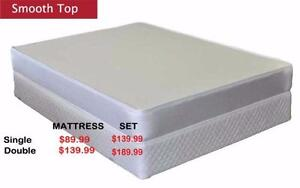 Big Saving On Single Double , Queen and King Size Mattresses Start from