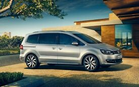 FLEXDRIVE BRAND NEW 7 SEATER 2018 VW SHARAN AND SEAT ALHAMBRA FROM £225