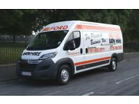 Man and van hire (city to city removal/delivery/collection services) - No small jobs