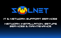 Network installations, setup, services and maintenance