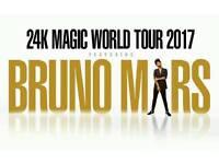 2 x Bruno Mars Tickets Manchester Opening Night