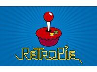 Retropie Arcade console fully loaded with controllers