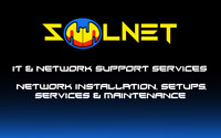IT Support and Network cable, Security camera Installs