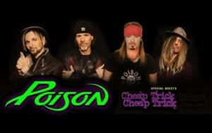 Poison & Cheap Trick Tickets - Cheaper Seats Than Other Ticket Sites, And We Are Canadian Owned!