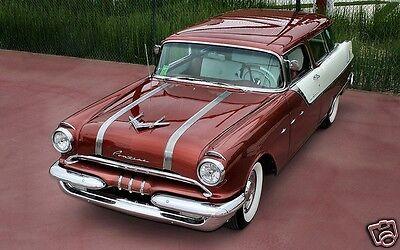 - 1955 Pontiac Safari Wagon, Like Nomad, Refrigerator Magnet, Tool Box