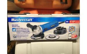 Mastercraft 6A 4.5 inch Angle Grinder Brand New in Box