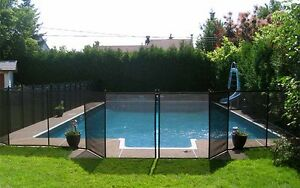 "REMOVABLE POOL FENCE ""Child Safe Fence"""