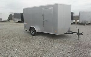 2017 ENCLOSED CARGO 5 X 8 TO 8 1/2 x 48 FT.-6x10 SHOWN