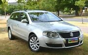 2008 Volkswagen Passat Type 3C MY08 TDI DSG Silver 6 Speed Sports Automatic Dual Clutch Wagon Cumberland Park Mitcham Area Preview