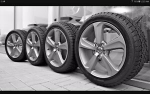 High quality winter tires and rims at clearance price.