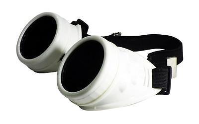 scheißen Brille rustikal Steampunk Stil für Cosplay Kostüm - Steampunk Kleid Weiss