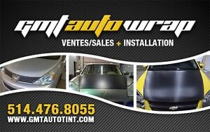 3M VINYLE WRAP,  FULL WRAP, PARTIAL WRAP, INTERIOR WRAP